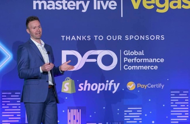 Blue Pack Marketing CEO speaking at the Facebook/E-Commerce Event on January 10th in Las Vegas