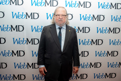 Dr. James Allison at the 2019 WebMD Health Hero Awards in New York City