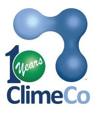 10 yr anniv logo for 2019 (PRNewsfoto/ClimeCo Corporation)