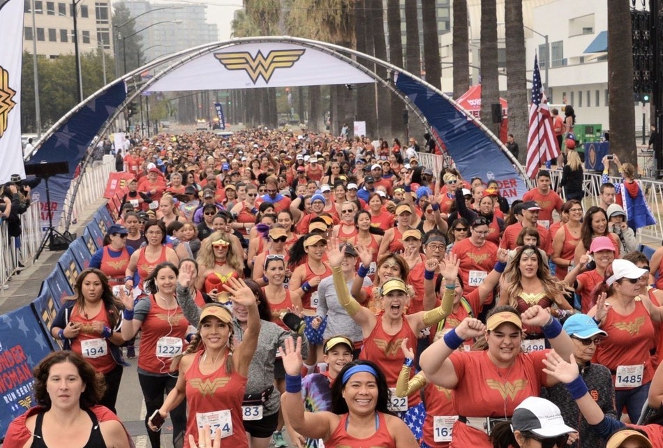 SON Events together with Warner Bros. Consumer Products on behalf of DC announces the launch of the 2019 DC Wonder Woman Run Series, which will be held in as many as 10 cities across the United States and Canada, attracting upwards of 100,000 participants.