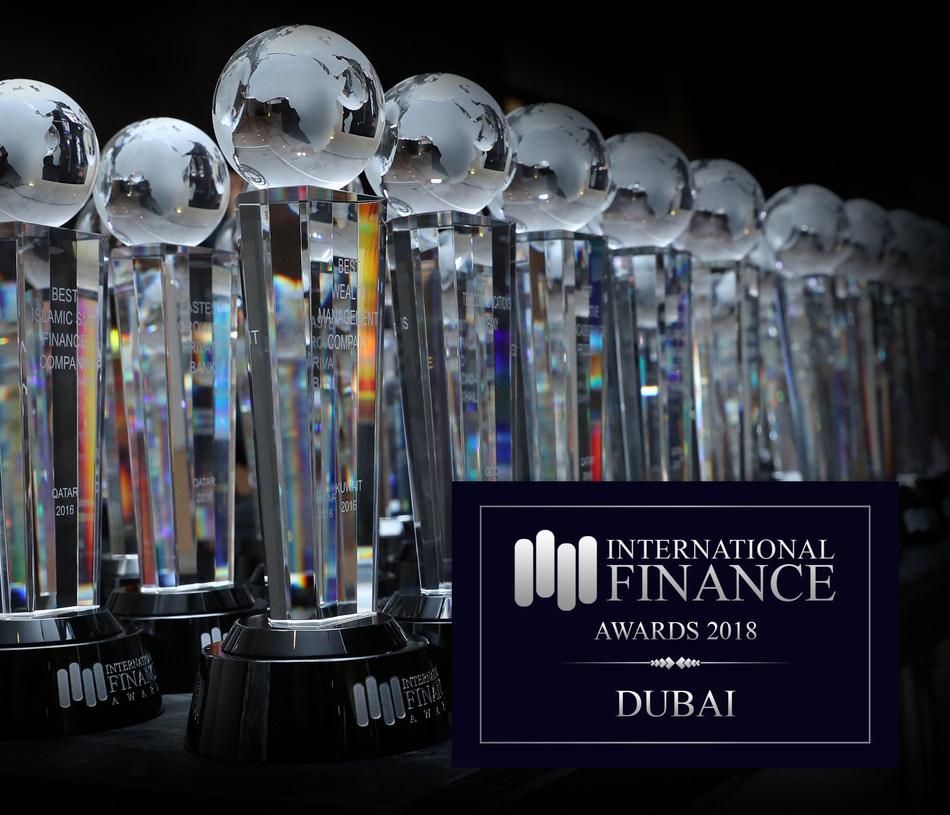International Finance Awards 2018 - DUBAI (PRNewsfoto/International Finance)