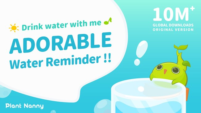 Plant Nanny2 Makes Drinking More Water Fun