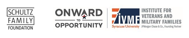 The Schultz Family Foundation announced a $7.5 million investment to the Institute for Veterans and Military Families (IVMF) at Syracuse University to advance the Onward to Opportunity (O2O) program in support of veteran career preparation and employment.