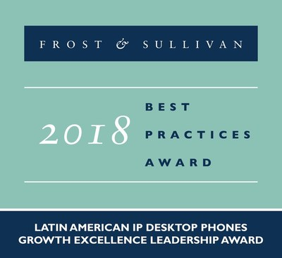 Grandstream's Region-specific Growth Strategies for the Latin American IP Desktop Phones Market Recognized by Frost & Sullivan