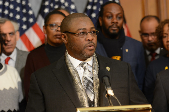 Eric Young, who represents 33,000 correctional workers at 122 federal prisons nationwide, says the government shutdown is putting them in greater danger.