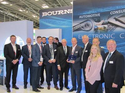 Bourns Honors Digi-Key with Best POS Growth eCommerce Partner, EMEA Award