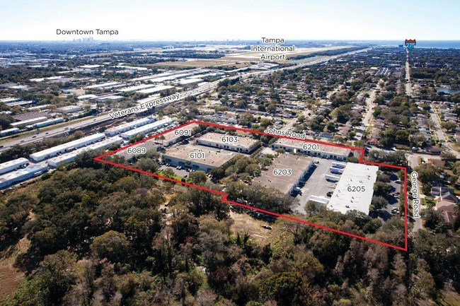 Executive Industrial Park in Tampa, FL  comprised of seven buildings on over 15 acres.