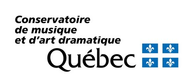 Logo du Conservatoire (Groupe CNW/Conservatoire de musique et d'art dramatique du Québec)