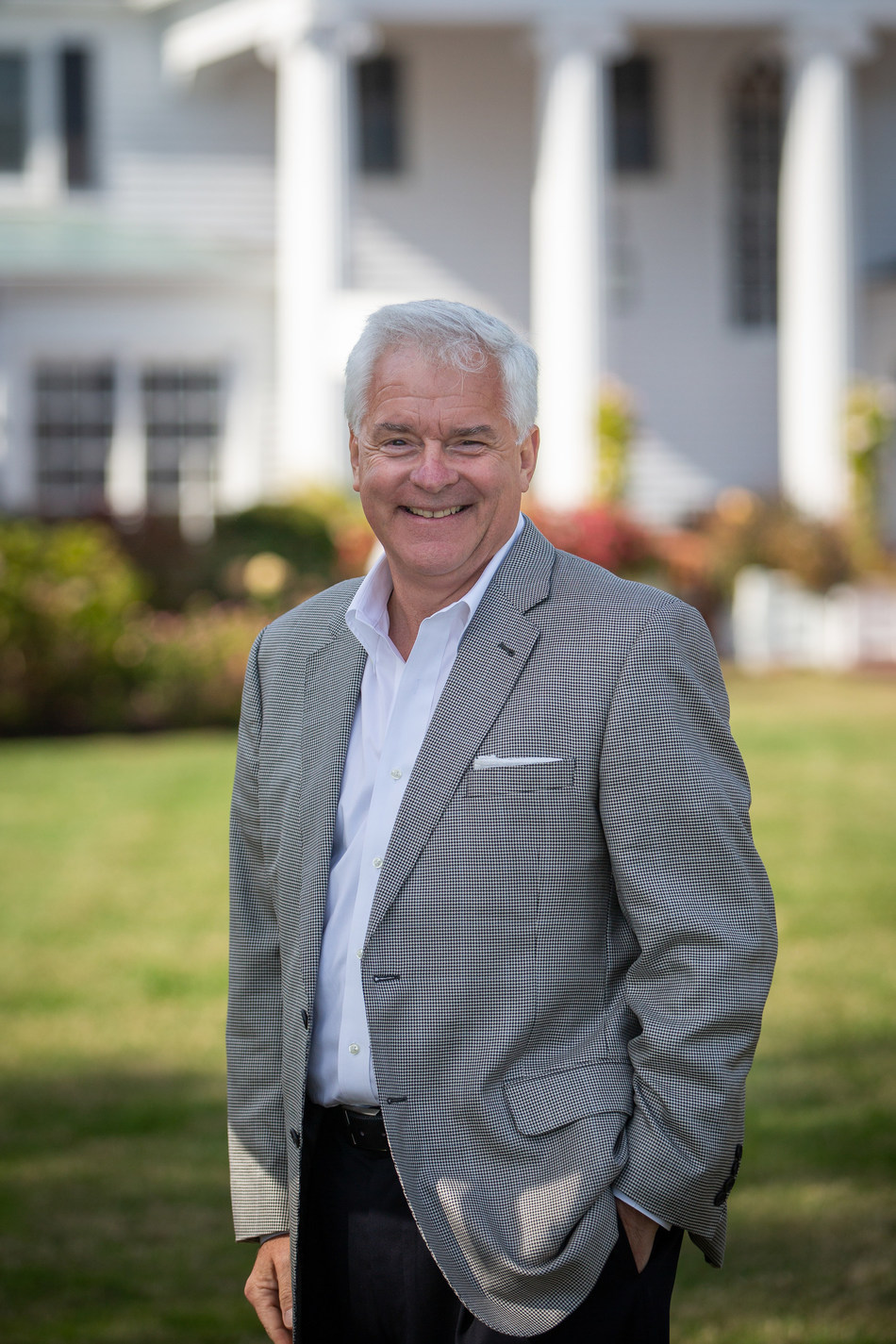 Michael Hoffmann, Managing Director for Perry Cabin Resorts & Golf.