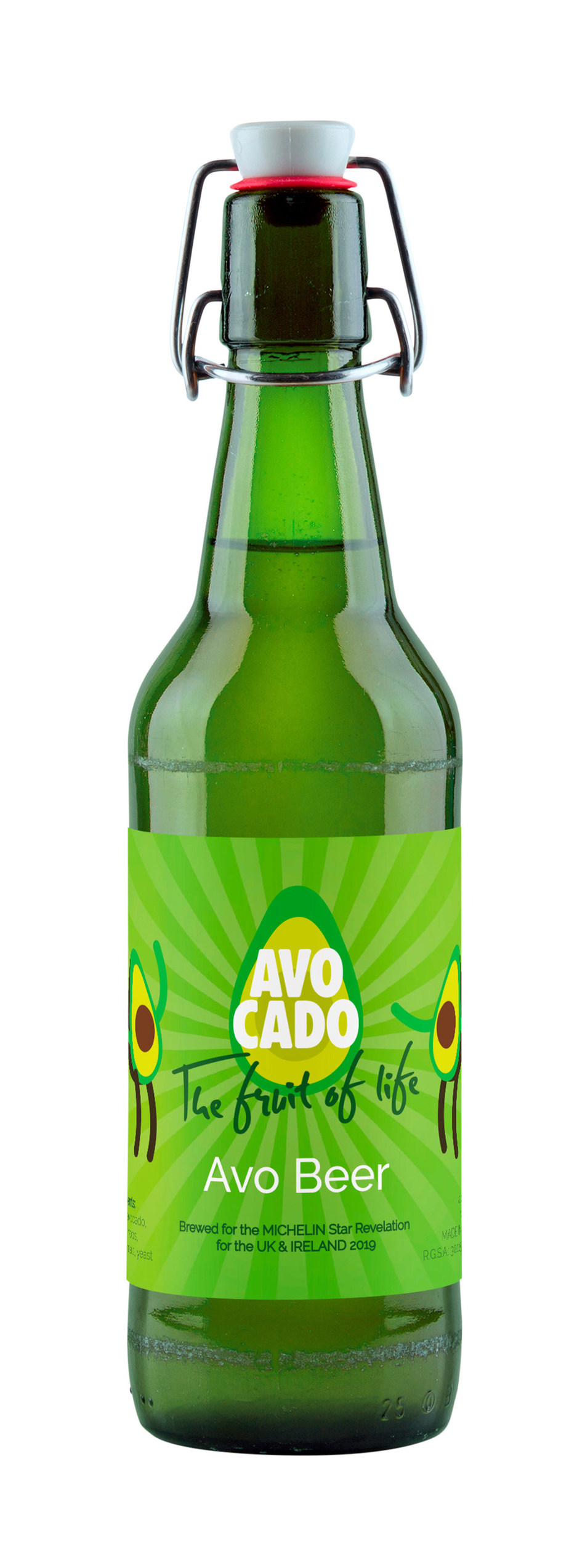 WAO to Unveil the First Ever Avocado Beer in France During the Michelin Guide Event.