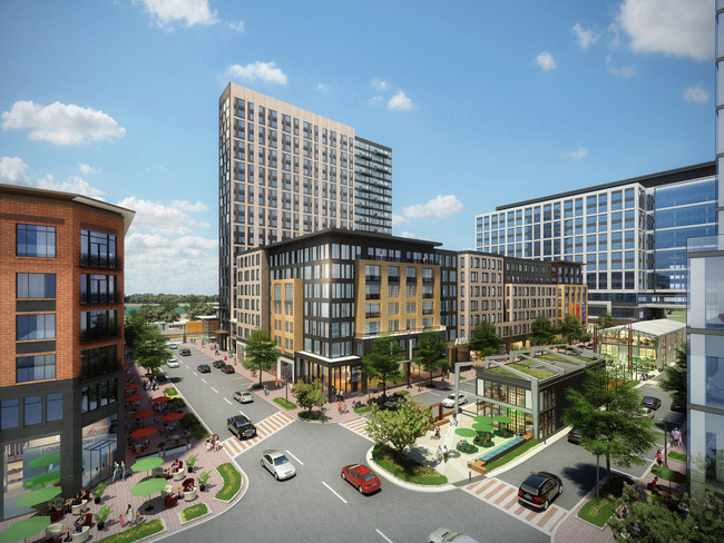 Rendering: Block 8 at Assembly Row; Rendering Credit: Federal Realty Investment Trust