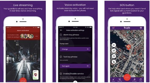 Personal Safety App bSafe, Re-Launches With New Technology to Potentially Save Lives