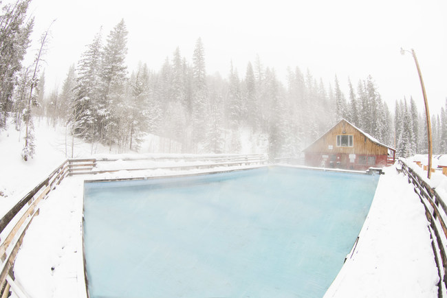 Find a little slice of heaven in one of Montana's hot springs. (Photo Courtesy: Visit Montana)