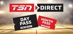TSN and RDS Announce $4.99 Day Pass Streaming Subscriptions