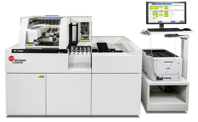 Beckman Coulter's PK7400 fully automated microplate system