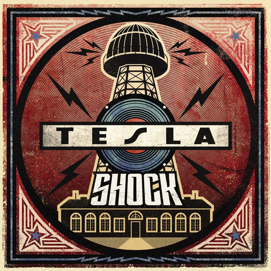 """The legendary American rock band TESLA will release their new studio album, 'SHOCK,' worldwide on March 8 via UMe. The album is available now for preorder in CD, digital, black vinyl, and limited edition translucent blue vinyl formats; its electrifying lead single, """"Shock,"""" is available now for streaming and for immediate download with album preorder. Produced and co-written by Phil Collen (Def Leppard), 'SHOCK' is TESLA's eighth studio album. TESLA is actively touring throughout 2019."""