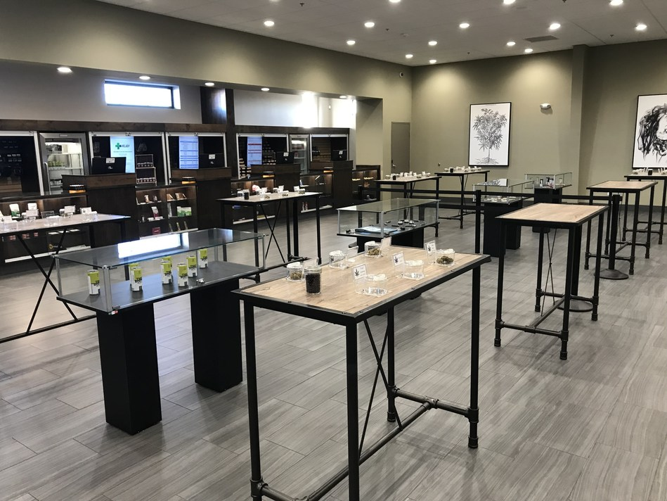 C21 Investments' Silver State Relief dispensary in Fernley, Nevada opened on January 17, 2019 (CNW Group/C21 Investments Inc.)