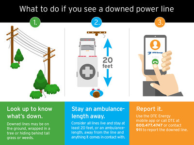 Knowing what to do if you see a downed power line can save your life