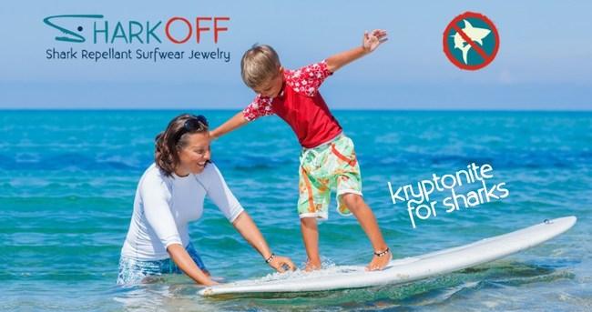 Shark OFF - Shark Repellent Surfwear Jewelry. It's kryptonite for sharks!