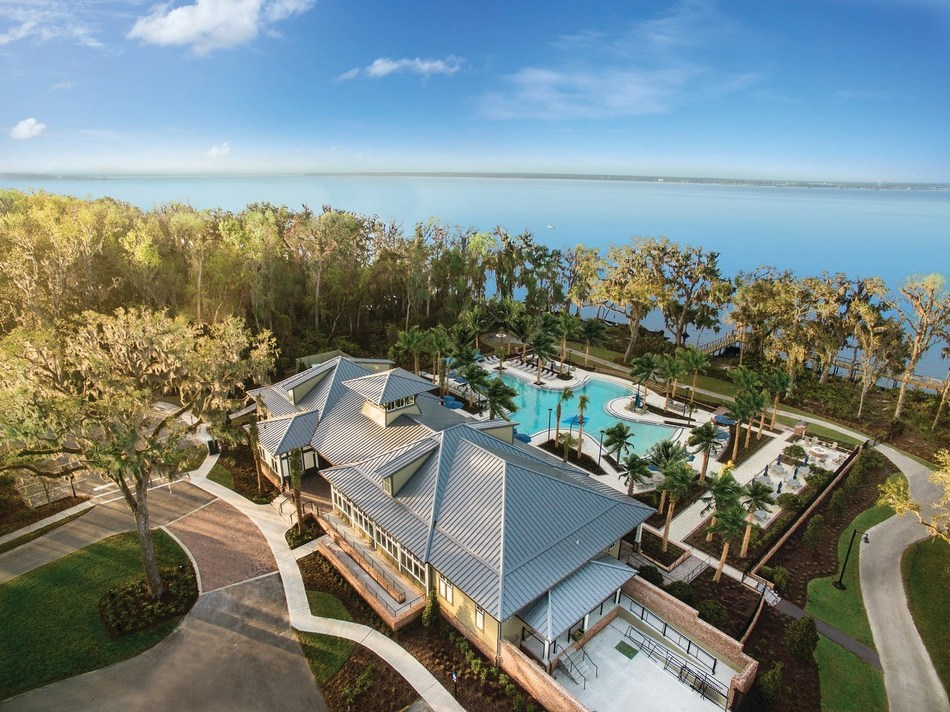RiverClub is the multi-million dollar riverfront amenity center in Mattamy Homes' master-planned community along the scenic St. Johns River. RiverClub is reserved for the exclusive use of RiverTown residents, including the newly announced WaterSong 55+ community. (CNW Group/Mattamy Homes Limited)