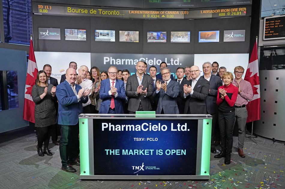 PharmaCielo Ltd. Opens the Market (CNW Group/TMX Group Limited)