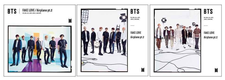 BTS -  THE LATEST JAPANESE SINGLE 'FAKE LOVE/Airplane pt.2' CD AVAILABLE MARCH 15 IN THE US