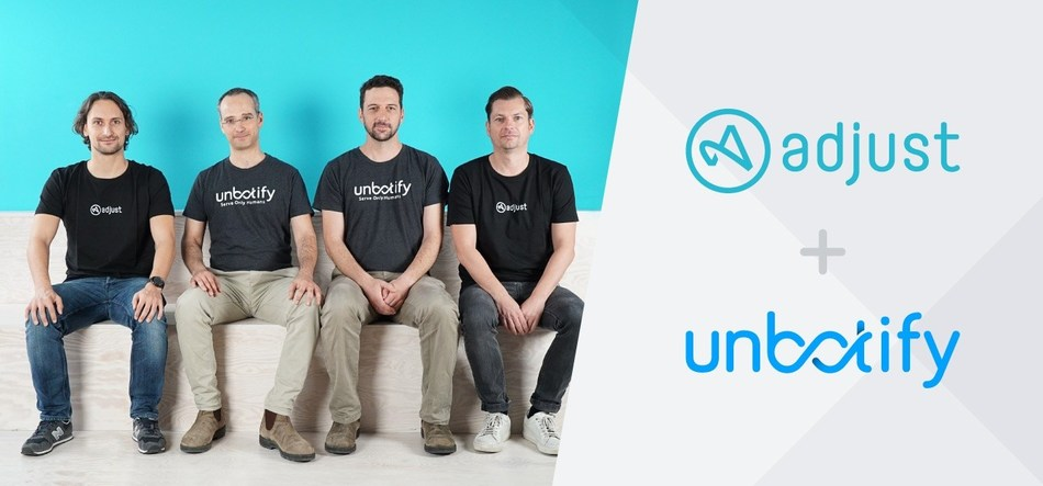 Adjust acquired Cyber-Security and AI-Startup Unbotify (PRNewsfoto/Adjust GmbH)
