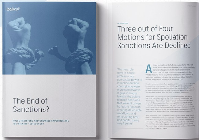 Logikcull will present findings of its sanctions report on Jan. 23 webinar.