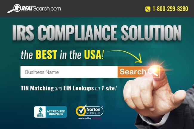 IRS TIN Matching Compliance Solution Experts