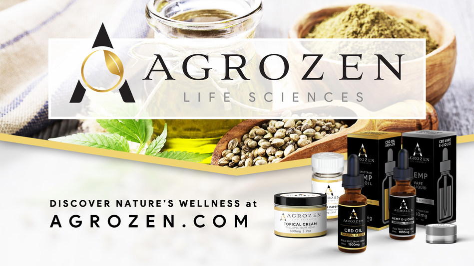Agrozen Life Sciences offers Hemp based CBD products in tinctures, caplets, topicals, edibles, and inhalation products in various CBD potency, flavors, or scents.  Experience the Agrozen difference today. Discover Nature's Wellness.
