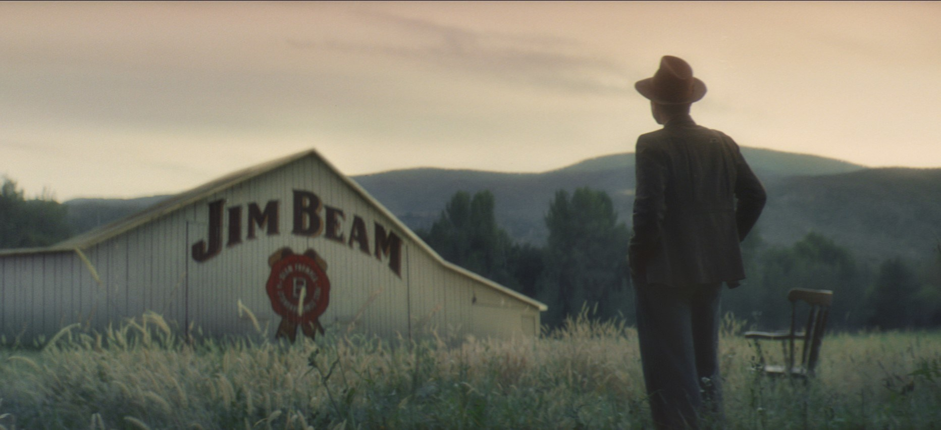 """The first TV advertisement under Jim Beam's new campaign, titled """"Celebration,"""" tells the story of James B. Beam leading up to the end of Prohibition—and the group of family and friends who helped him rebuild the brand's now iconic distillery in a mere 120 days following the law's repeal."""