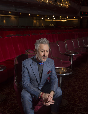 Alan Cumming prepares for a Transatlantic Crossing in Queen Mary 2's Royal Court Theatre on Thursday, Jan. 3, 2019 in Brooklyn, N.Y. (Diane Bondareff/AP Images for Cunard)