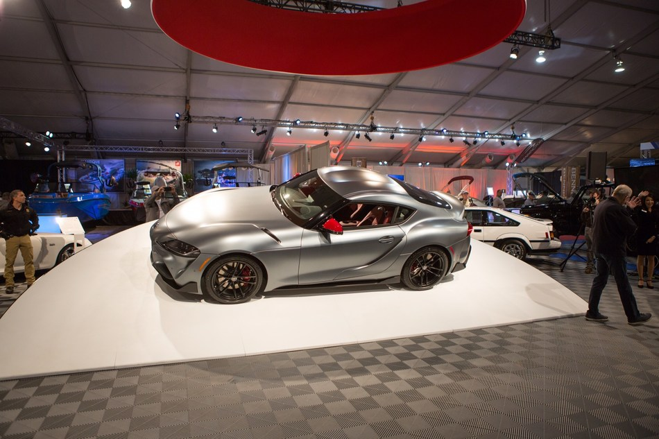 The first production 2020 Toyota GR Supra to roll off the assembly line was auctioned off for charity. It's a fitting start to the launch of the fifth-generation GR Supra, which made its world debut  at the 2019 North American International Auto Show in Detroit.