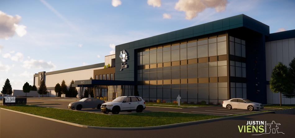 Jefo confirme la construction d'une nouvelle usine de 30M$ (Groupe CNW/Jefo Nutrition Inc.)