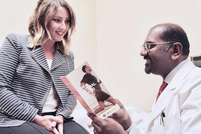 Star Ortho   Raj Sinha, MD talks with a patient about Lipogems
