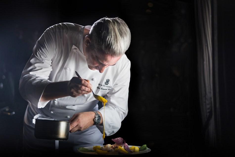 """""""Aware of the worldwide movement, inspiration comes from deep inside my heart with feelings that emulate every detail of my life."""" Yann Bernard Lejard, Executive Chef of The Ritz-Carlton, Bahrain (PRNewsfoto/The Ritz-Carlton, Bahrain)"""