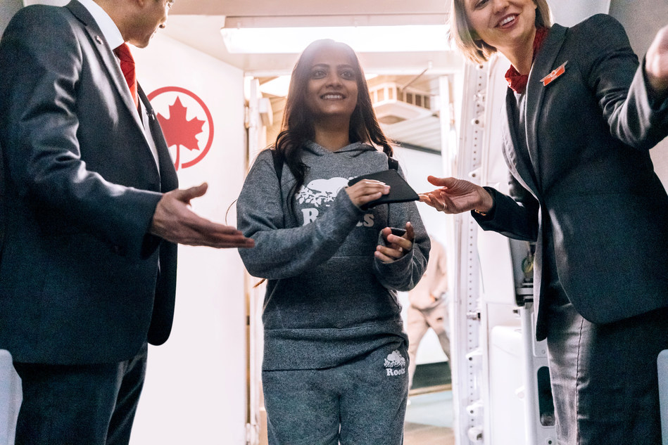 Roots x Air Canada (CNW Group/Roots Corporation)