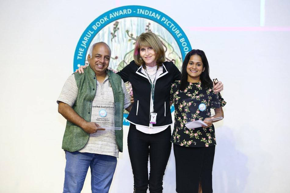 The Jarul Book Award 2019 (PRNewsfoto/The American School of Bombay)