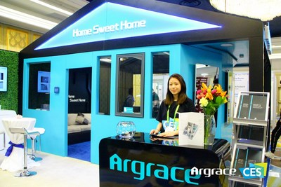 Argrace Demonstrates a Safe and Secure Smart Home Future at CES