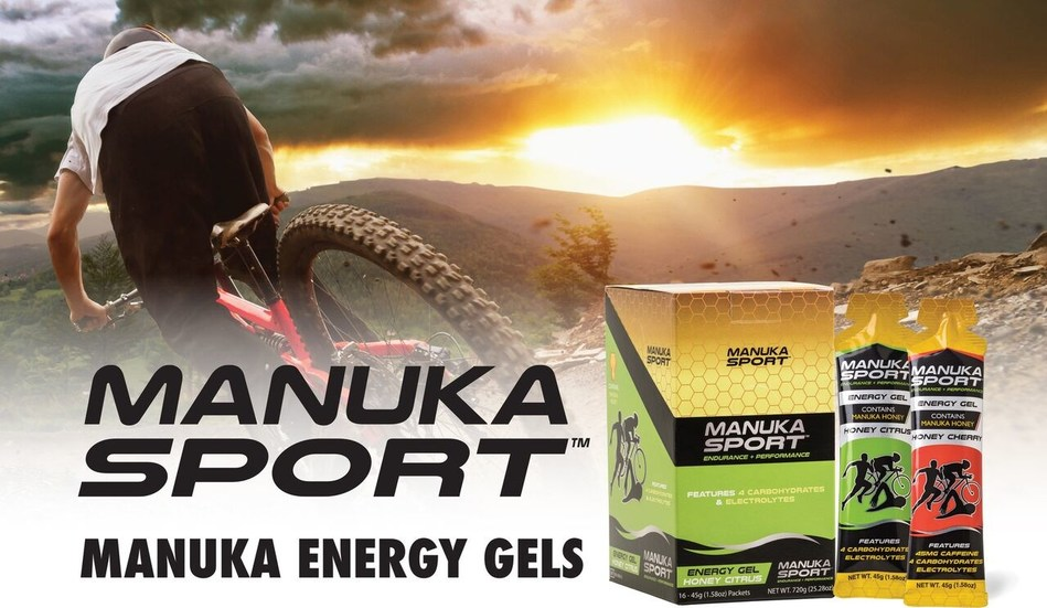 Manuka Sport has packed Manuka Honey into their energy gels, hydration powders, and protein powder for recovery.