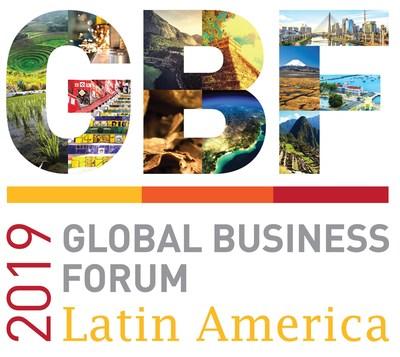 """GBF Latin America �"""" Panama 2019 logo (PRNewsfoto/Dubai Chamber of Commerce & Ind)"""