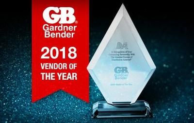 Gardner Bender Named 2018 Electrical Vendor of the Year at Distribution America
