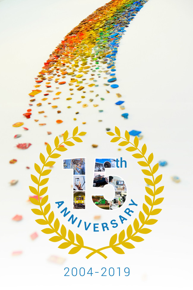 CloudVisit celebrates 15 years of aviation software, energy software, transportation software, maritime software, construction software, telecommunication software and telemedicine software