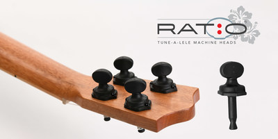 Tune-a-leles, world's lightest and easiest to tune machine heads, just for ukuleles.