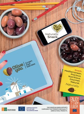 Olive You, European Olive Campaign: Olives, the Healthy Snack Choice!