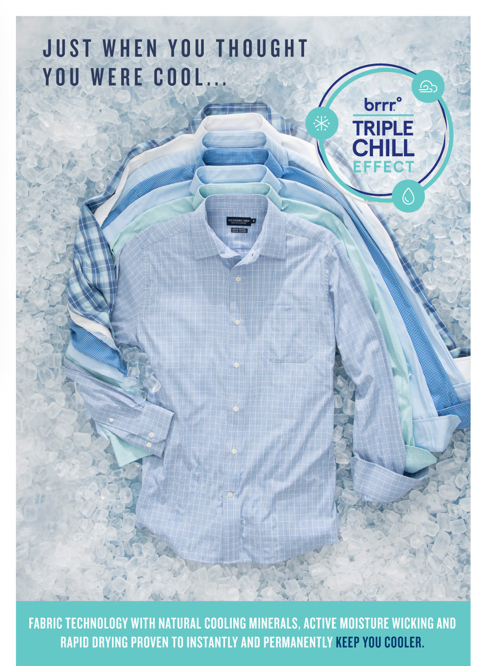 Southern Tide Partners with brrr° on Cooling Performance Collection