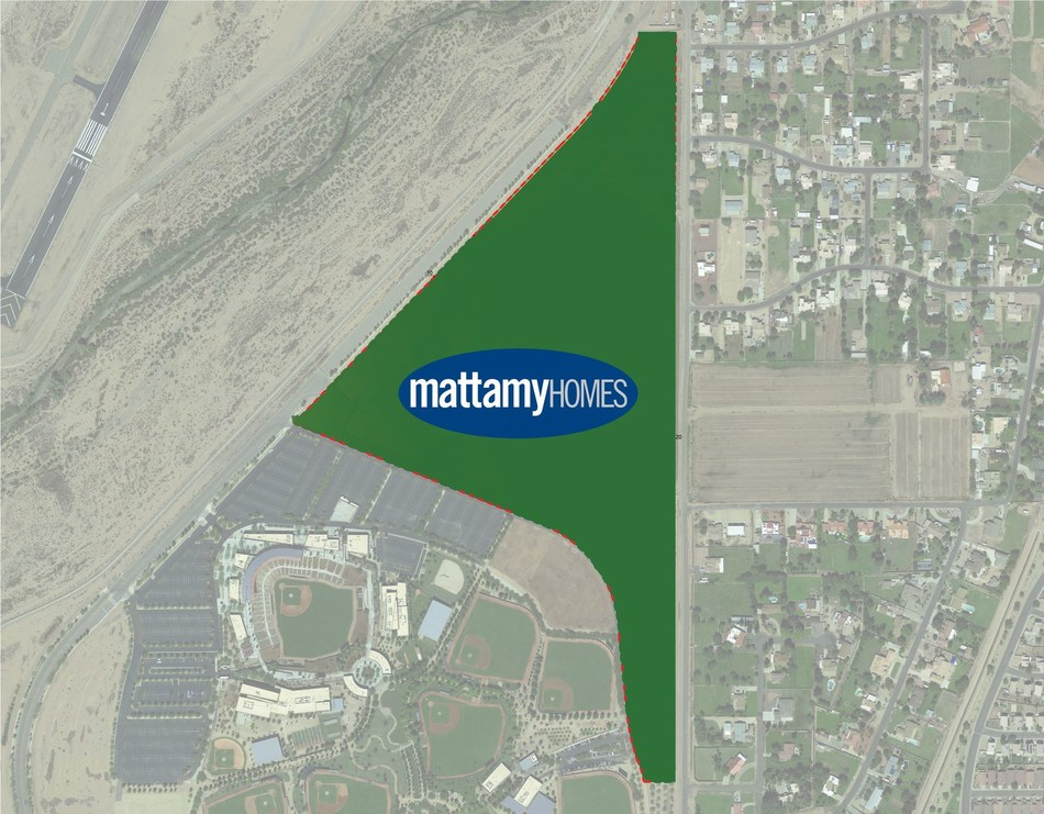 Mattamy Homes, the largest privately owned homebuilder in North America, has acquired a significant property in Phoenix, AZ, located next to Camelback Ranch-Glendale Field. This purchase will enable Mattamy to bring new homes and the company's unique community design into an area that has been otherwise developed for many years. (CNW Group/Mattamy Homes Limited)
