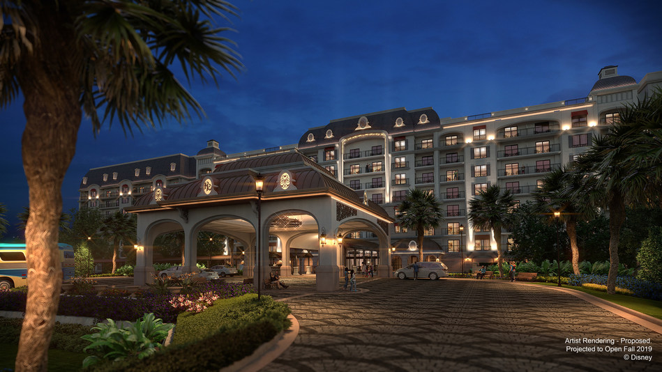 Disney's Riviera Resort is now accepting guest reservations for stays beginning in December 2019. This all-new resort coming to Walt Disney World Resort in Florida, and slated to be the 15th Disney Vacation Club property, will immerse guests in the grandeur and enchantment of the European Riviera. (Disney)