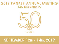 The Pankey Institute of Key Biscayne, Florida holds its 50th Anniversary Annual Meeting Sept. 12-14, 2019 at the Ritz-Carlton Key Biscayne, Florida. (PRNewsfoto/L.D. Pankey Dental Foundation)