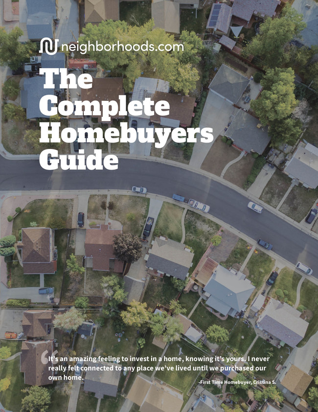 Download The Complete Homebuyers Guide at Neighborhoods.com.
